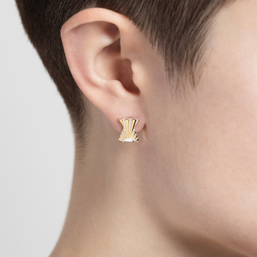 Ray X Ear Studs - Joy Everley Fine Jewellers, London