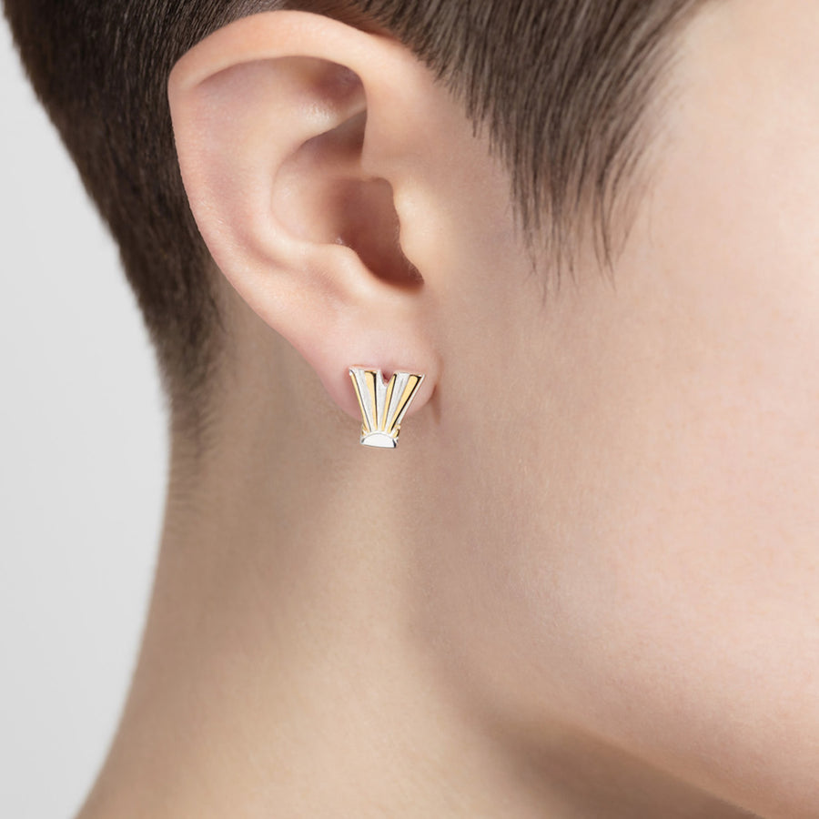 Ray Y Ear Studs - Joy Everley Fine Jewellers, London