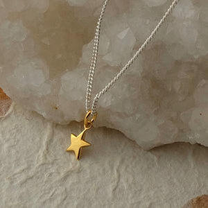 Vermeil Star Necklace