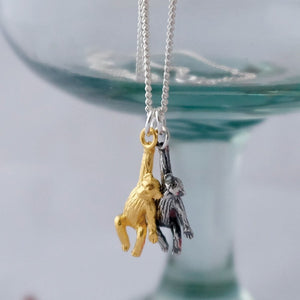 Cheeky Monkeys Necklace - Joy Everley Fine Jewellers, London