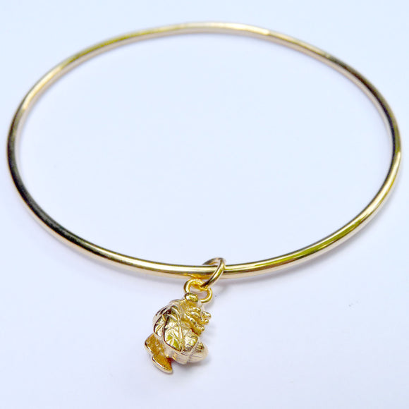 Vermeil Bee Bangle