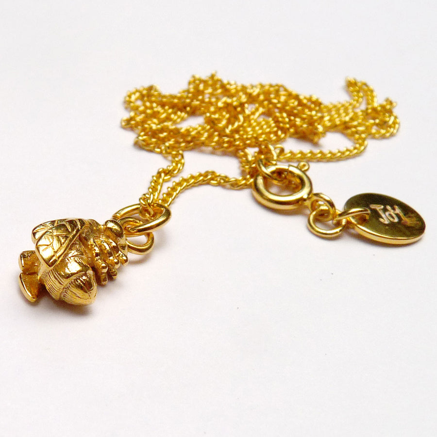 Vermeil Bee Necklace - Joy Everley Fine Jewellers, London