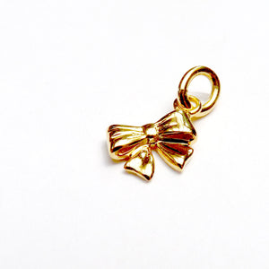 Tiny Bow Charm - Joy Everley Fine Jewellers, London