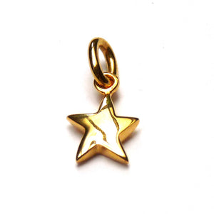 Tiny Vermeil Star - Joy Everley Fine Jewellers, London