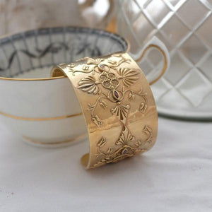 Baroque Gold Cuff by Joy Everley