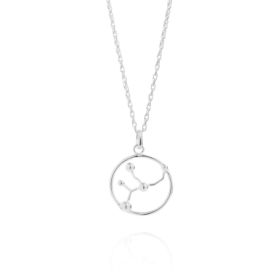 Virgo Astrology Silver Necklace by Yasmin Everley