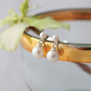 Classic Pearl Drop Earrings - Joy Everley Fine Jewellers, London