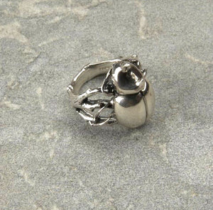 Rhino Beetle Ring - Joy Everley Fine Jewellers, London
