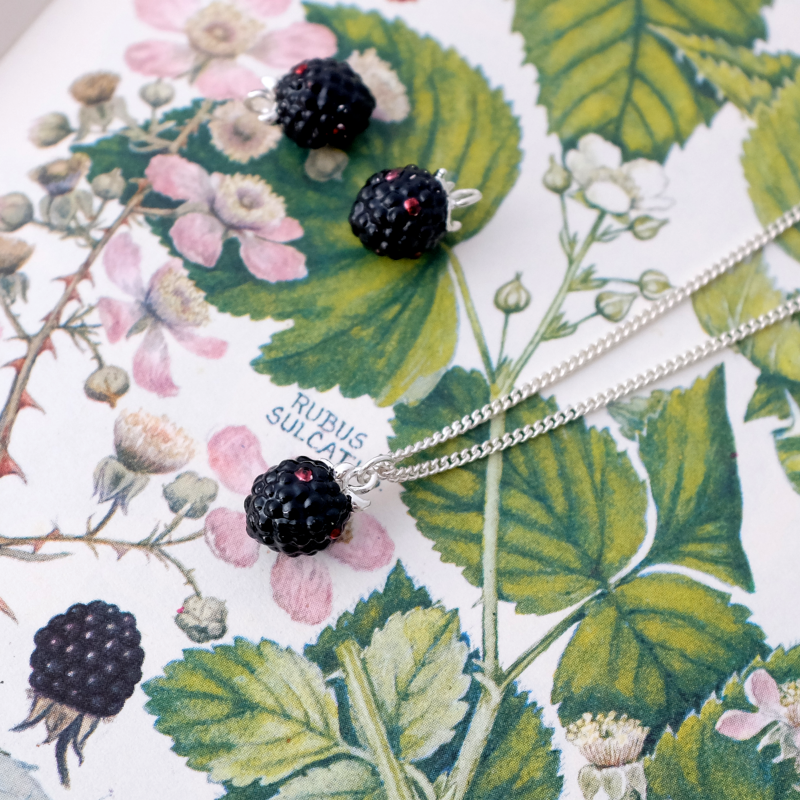 Blackberry Necklace - Joy Everley Fine Jewellers, London