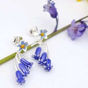 Bluebell Silver Earrings by Joy Everley