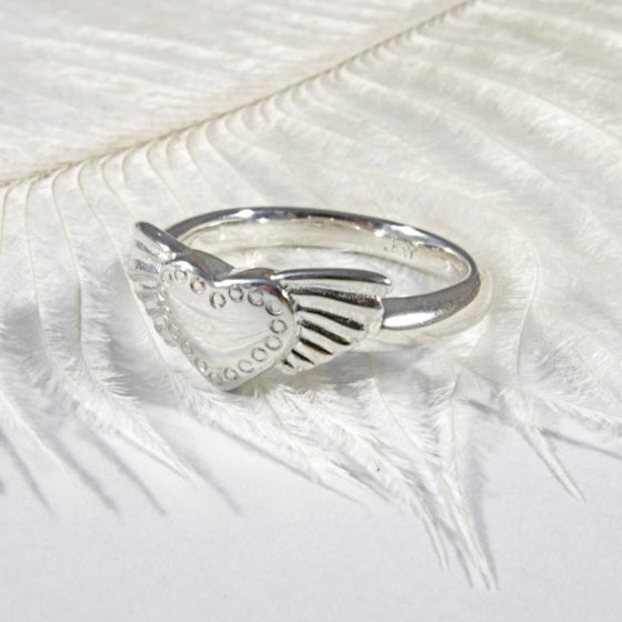 Winged Heart Ring - Joy Everley Fine Jewellers, London