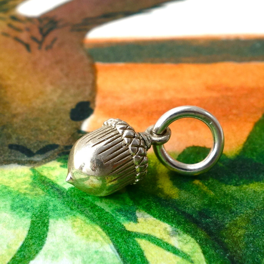 Large Acorn Charm - Joy Everley Fine Jewellers, London