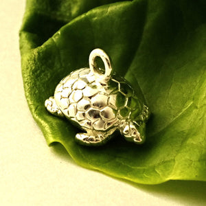 Tortoise Charm - Joy Everley Fine Jewellers, London