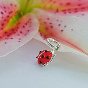 Ladybird Charm - Joy Everley Fine Jewellers, London