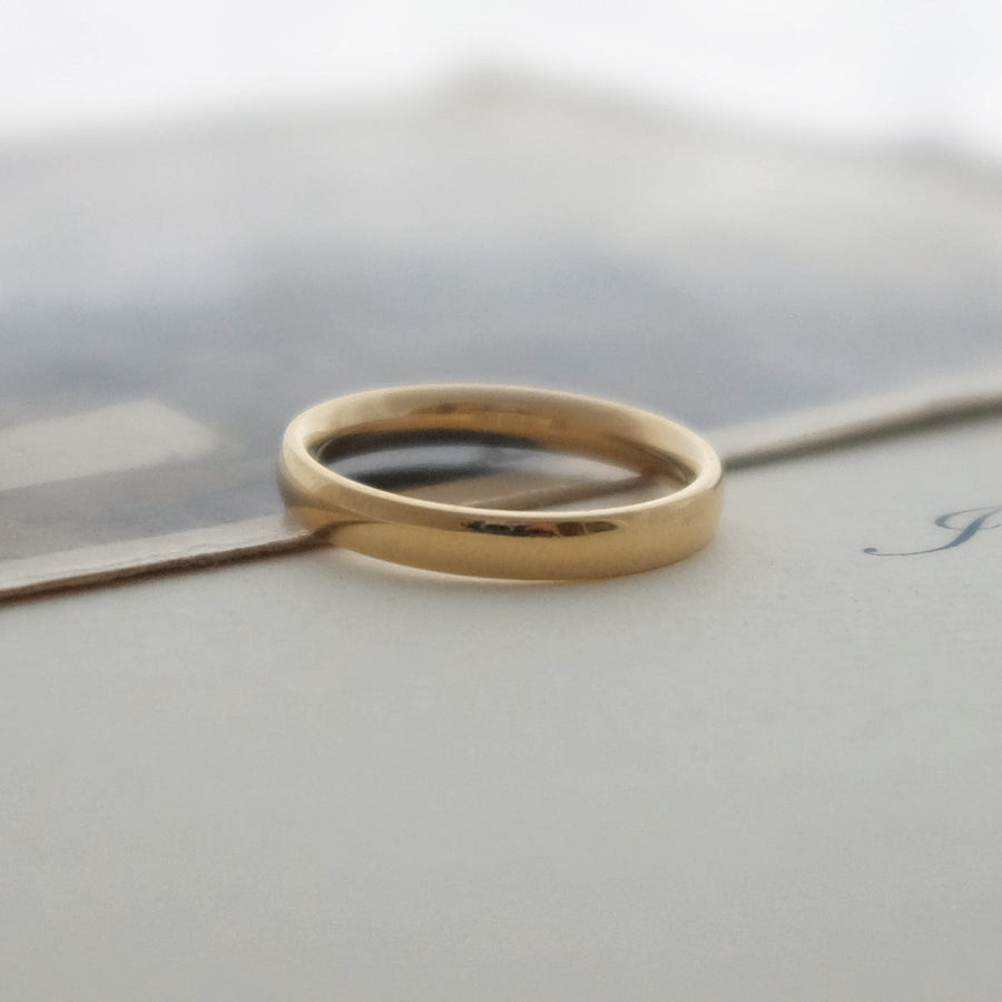 Fairtrade Yellow Gold Wedding Band Set