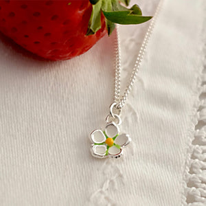 Strawberry Flower Pendent by Joy Everley