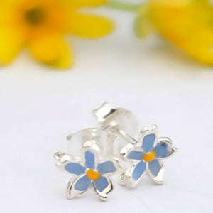 Forget Me Not Ear Studs