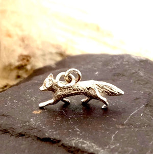 Little Fox Silver and Gold Charms by Joy Everley