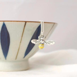 Silver Honey Bee Charm by Joy Everley