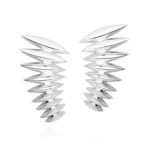 Telstar Wing Earrings - Joy Everley Fine Jewellers, London