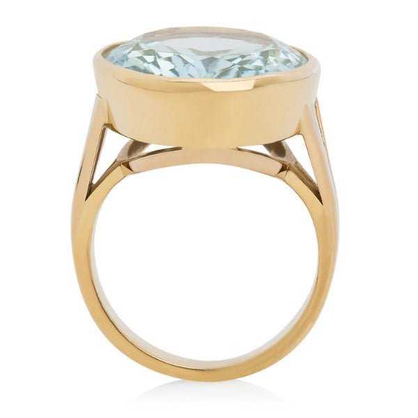 Aquamarine Cocktail Ring - Joy Everley Fine Jewellers, London
