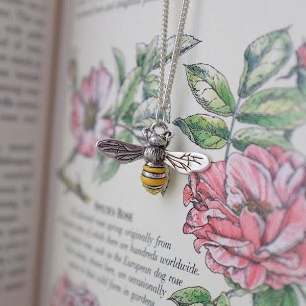 Silver Honey Bee by Joy Everley