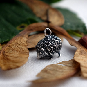 Hedgehog Charm - Joy Everley Fine Jewellers, London
