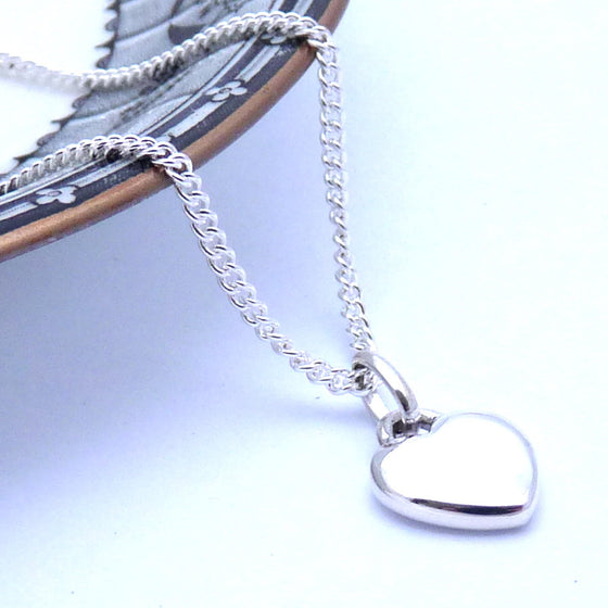 Smooth Heart Necklace