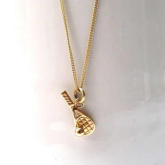 Gold Tennis Necklace