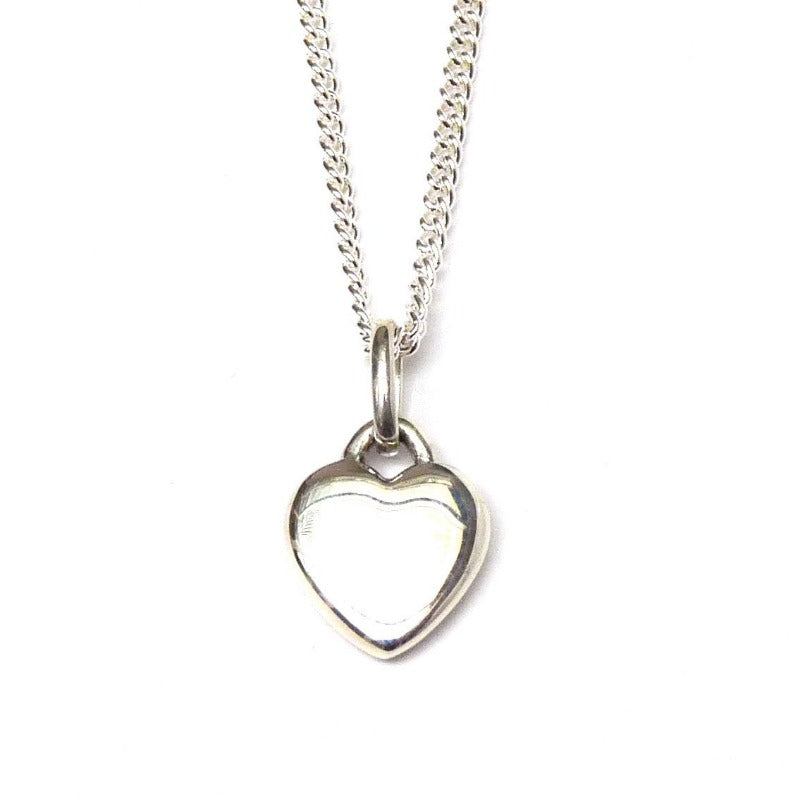 Smooth Heart Necklace - Joy Everley Fine Jewellers, London