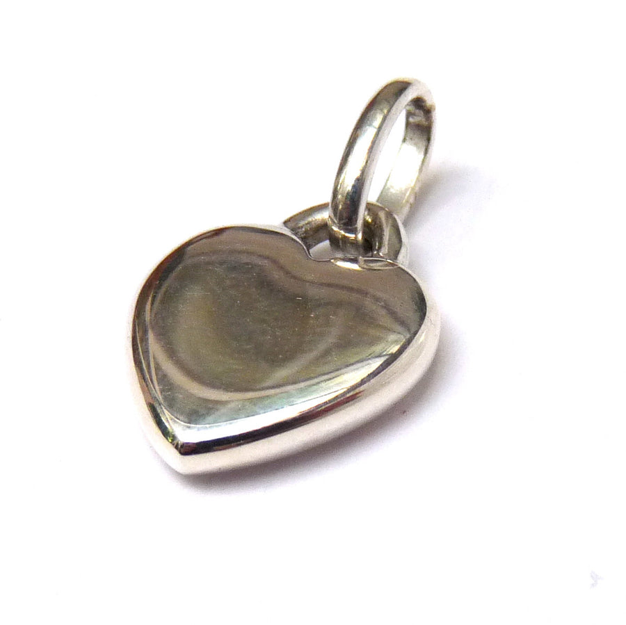 Smooth Heart Charm - Joy Everley Fine Jewellers, London