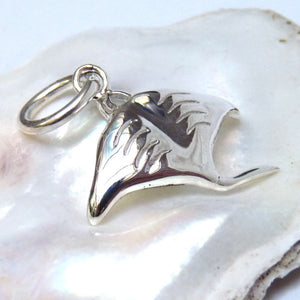 Manta Ray Charm - Joy Everley Fine Jewellers, London