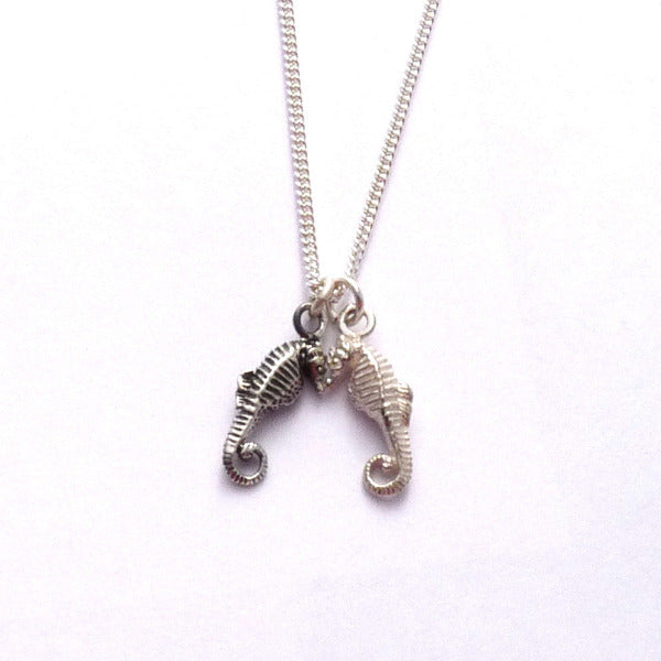 Seahorses Friendship Necklace - Joy Everley Fine Jewellers, London