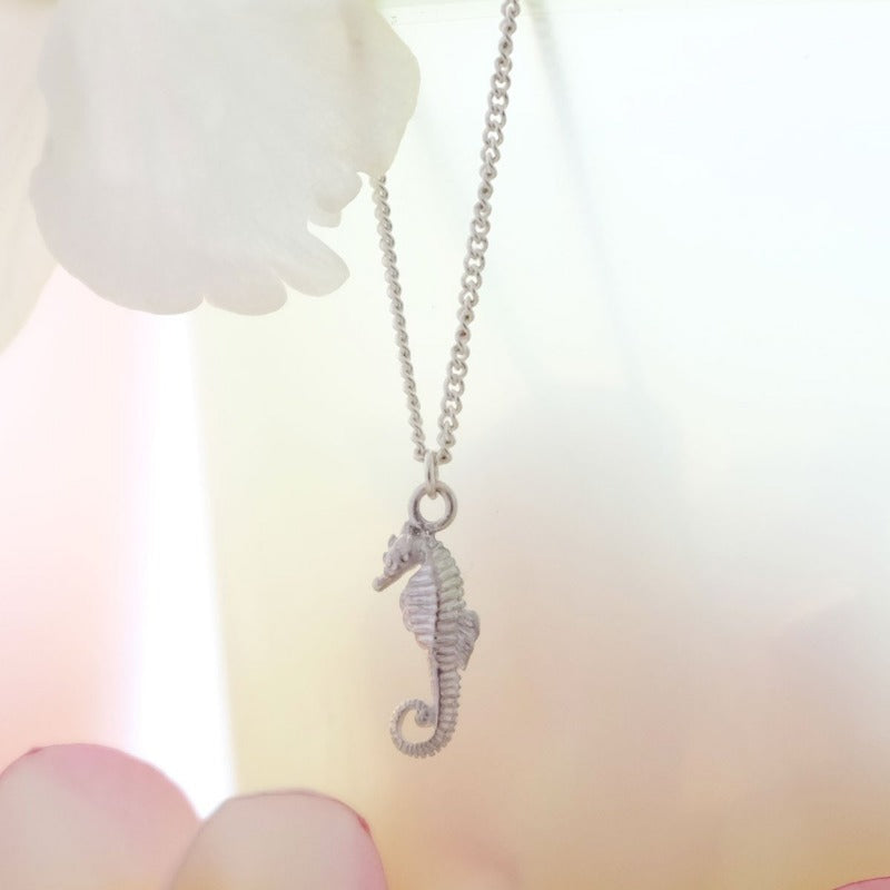 Seahorse Necklace - Joy Everley Fine Jewellers, London