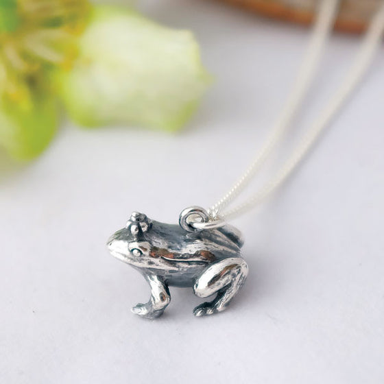 Frog Prince Necklace - Joy Everley Fine Jewellers, London