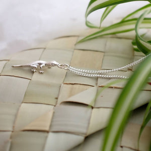 Silver Gecko Necklace - Joy Everley Fine Jewellers, London