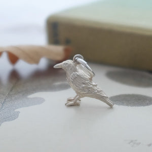 Raven Charm - Joy Everley Fine Jewellers, London