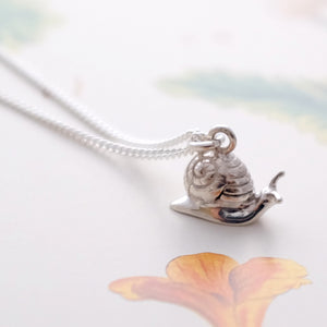 Snail Necklace - Joy Everley Fine Jewellers, London