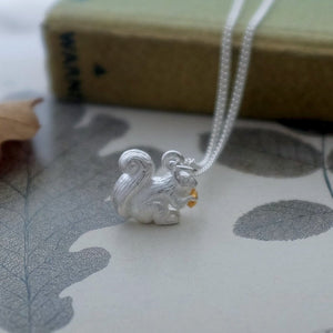 Squirrel Necklace - Joy Everley Fine Jewellers, London
