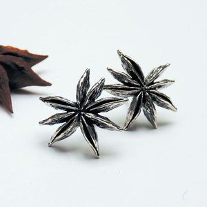 Star Anise Ear Studs
