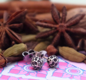 Peppercorn Ear Studs by Joy Everley