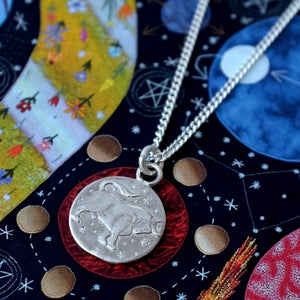 Silver Star Sign Coins by Joy Everley