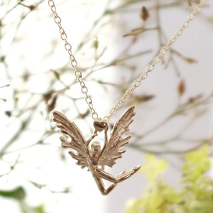 Joy Everley Integrity Silver Fairy Necklace