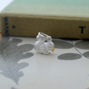 Squirrel Charm - Joy Everley Fine Jewellers, London