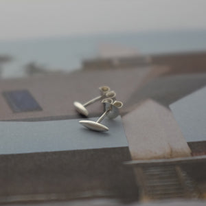 Telstar Tiny Ear Studs - Joy Everley Fine Jewellers, London