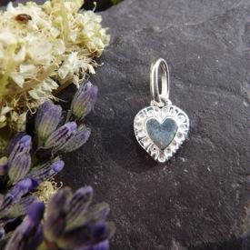 Tiny Heart Charm - Joy Everley Fine Jewellers, London
