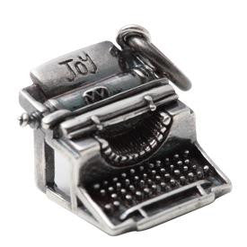 Typewriter Charm - Joy Everley Fine Jewellers, London