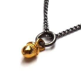Tiny Vermeil Acorn Necklace - Joy Everley Fine Jewellers, London