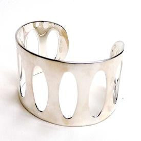 Narrow Sculptural Cuff - Joy Everley Fine Jewellers, London