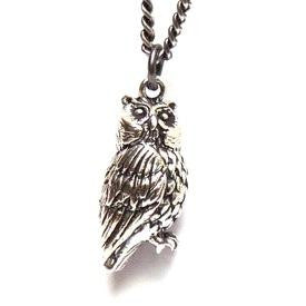 Owl Necklace - Joy Everley Fine Jewellers, London
